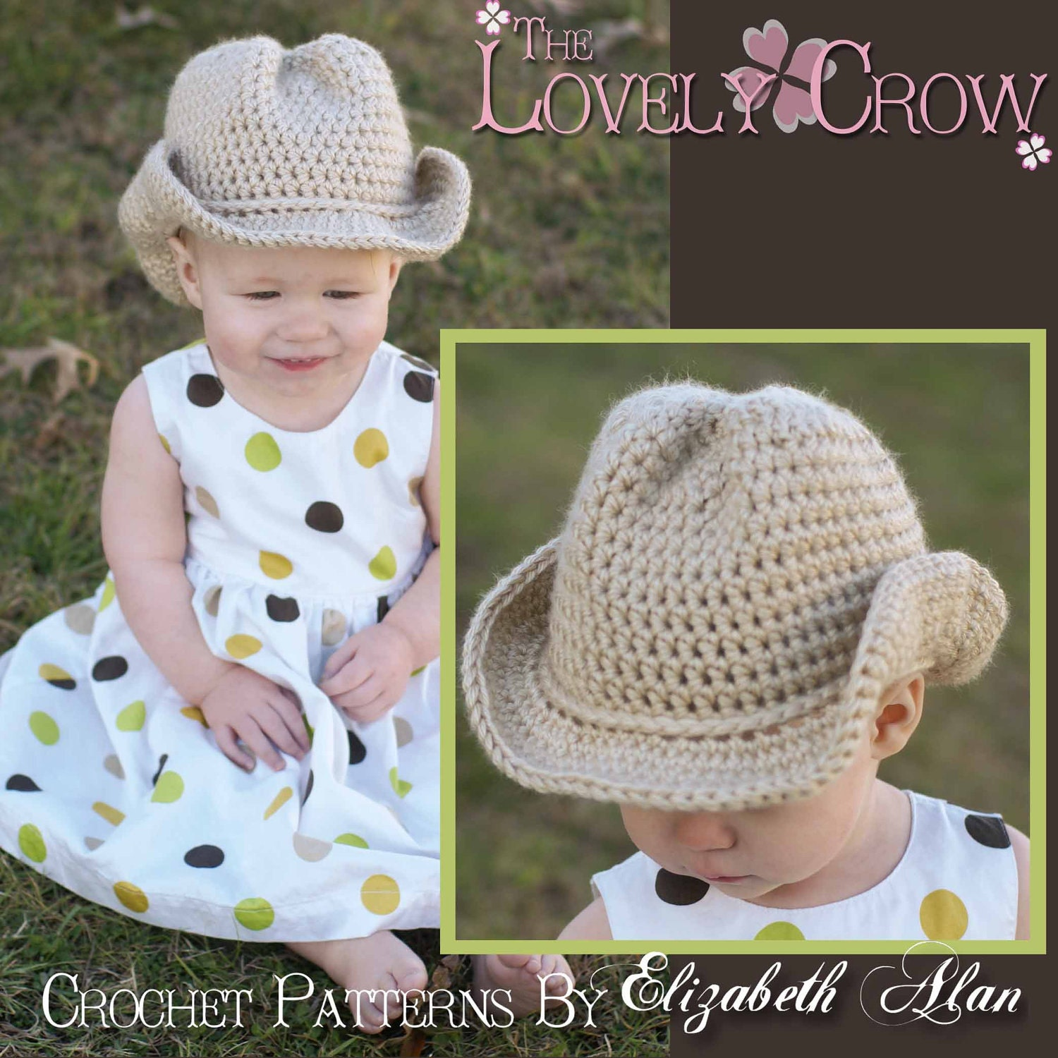 Cowboy Hat Crochet Pattern Baby for BOOT SCOOTN Cowboy