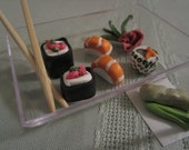 "Reserved: 4 Sushi Sets for 18"" Doll, a Willi Fustus Special"