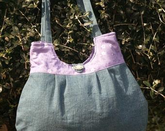 Denim purse - Blue Jeans, Baby - Price Reduced!