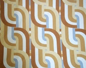 Fabric.  Upholstery linen.  Fabric retro design.  Home interior fabric.  Fabric symetrical pattern. 2 Yards