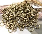 Jumpings Antique Bronze Filigree Metal Hoop 7mm---200beads