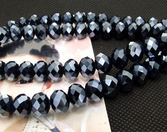 "10mm faceted shiny glass beads,Loose 70beads,full strand of agate  FULL STRAND 20"" gemstone"