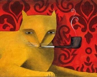 The Smoking Cat