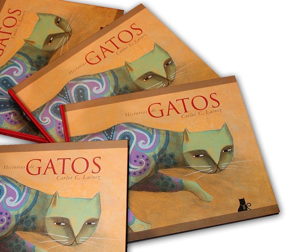 Tales of Cats. Book with 84 full color pages, hardcover