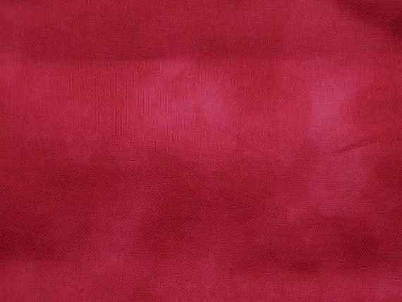 Red marbled, 1/2 yard, pure cotton fabric
