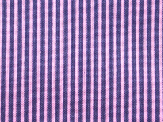SALE - Stripes in purple and lilac, almost 1 yard, pure cotton fabric