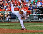 "Cliff Lee - Philadelphia Phillies - Fine Art Photograph - 6""X9"" (Other Sizes are Available)"