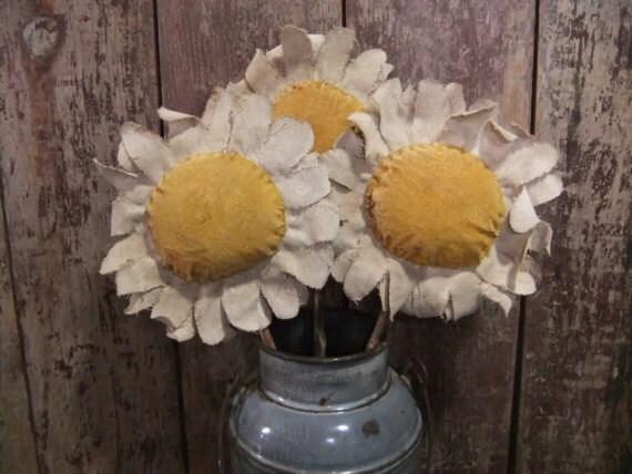 Primitive Daisy Flower Pokes