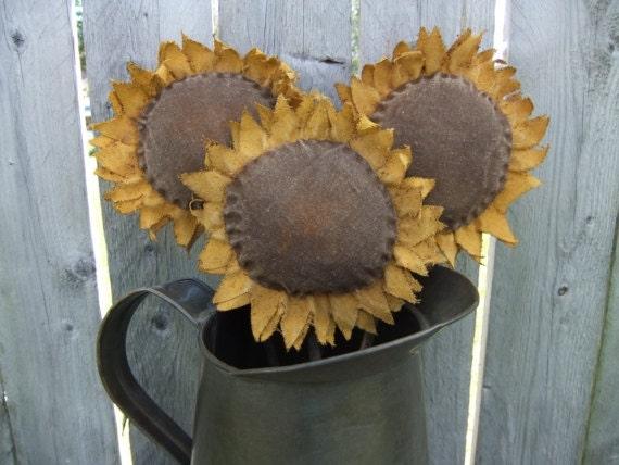 Primitive Sunflower Pokes