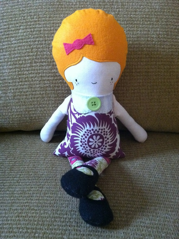 Retro Rag Doll- There Once Was a Girl Called Christy...