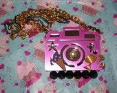 Purple Paparazzi Barbie Necklace