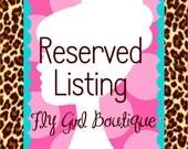 Custom Listing for Ms.MaryAnnReese