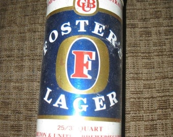 Foster's large beer can