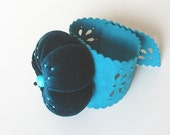 Pincushion with Bracelet TURQUOISE DREAM - Custom Listing for Tanya
