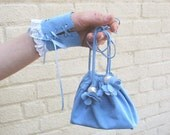 Suede Bag  BLUEBELL - reserved for Lora