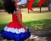 Red White and Blue Patriotic Dress