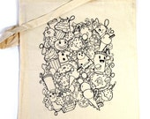 Tote Bag, Canvas Sweets & Candy