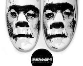 Shoes Custom Horror Frankenstein Kicks