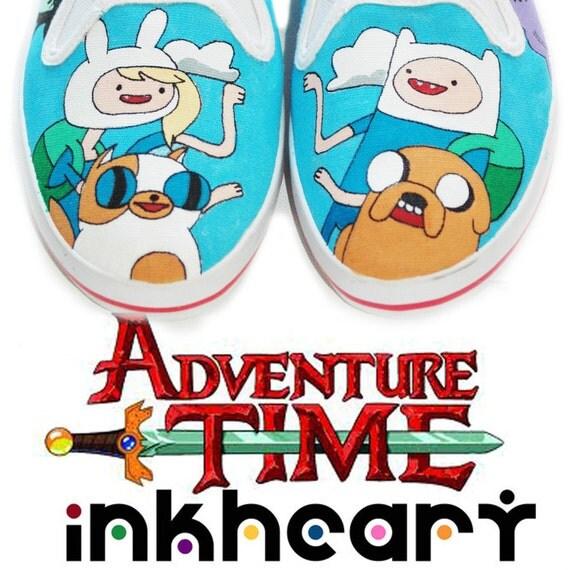 Adventure time gender bender custom kicks