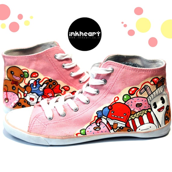 Pink Candy High Tops Sneakers