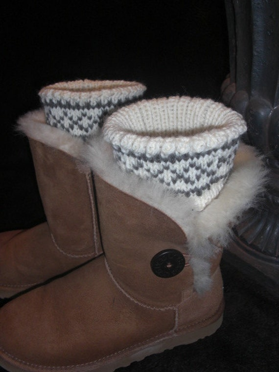 Hand knit boot toppers, boot cuffs, boot buffers, leg warmers.  SALE. Transform your existing boots.