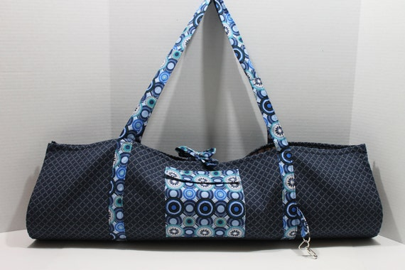 Blue and White Yoga Sling