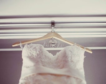 Personalize Wedding Hanger/Wedding Dress Hanger