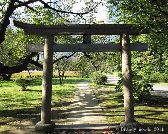 Japan Torii gate temple shinto photography art print - Brandy Woods