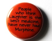 People Who Think - 1 inch Button, Pin or Magnet
