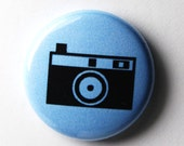 Blue or Red Camera Button : PIN or MAGNET