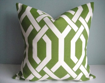 FREE US SHIPPING! Outdoor Decorative Pillow Cover In Slick PalmDecorative Pillow Cover, Available In All Sizes,Same Fabric On Both Sides