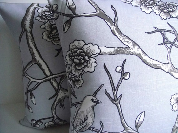 FREE US SHIPPING! Pillow Cover By Robert Allen Vintage Dove on Both Sides, Throw Pillow, Available In Different Sizes