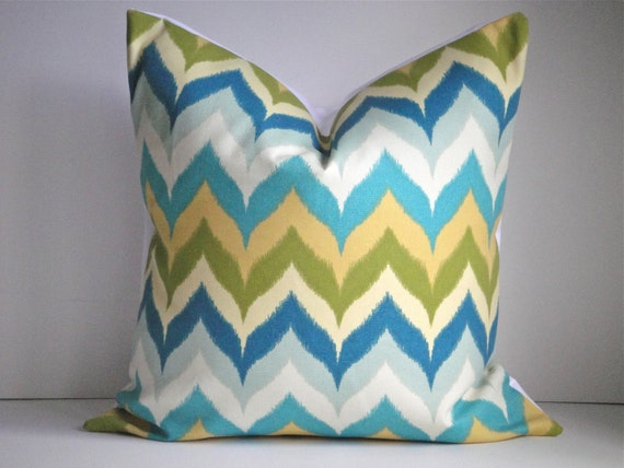 CLEARANCE- 18X18 DECORATIVE  Pillow Cover In Glamis Spa