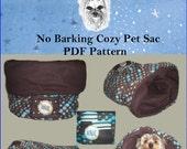 Pattern PDF Cozy Pet Sac/Bed