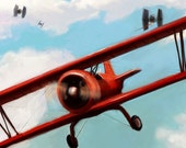 Red 5 - Part 1 - 5x7 - Small Metal Print