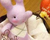 Mali Sock Doll - Rabbit - Baby Sophy