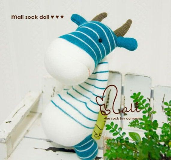 Mali Sock Doll - Cow - Tumtum