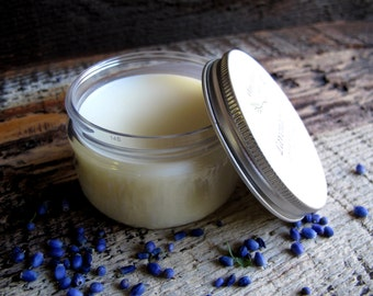 Body Butter Organic skin care All Natural with Essential Oils LAVENDER FIELDS