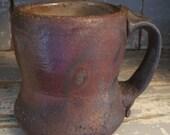 Reduction cooled wood fired mug