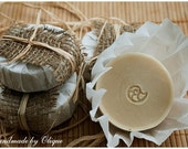 Fresh Spearmint Cold Process Soap. Natural and Handmade.