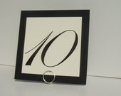 Simple Place Card Holders, Formal Wedding Decor, 9