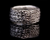 Reserved - cast knit stockinette ring