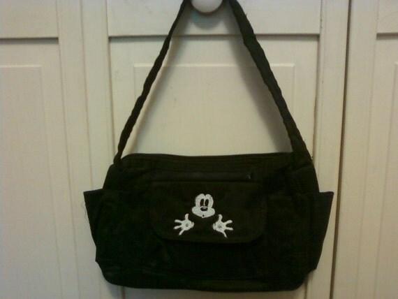 Disney  Bag with Mickey peeking out pocket