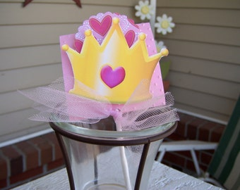 Princess Crown Lollipop  Set of 12