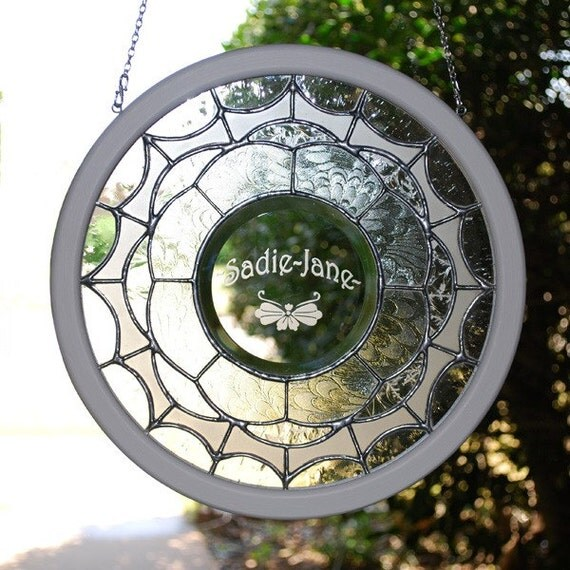 Personalized Gift - Stained Glass Panel