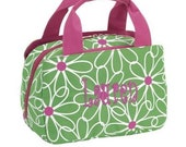 Personalized Girls Lunch Bag-Daisy