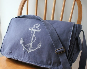 Anchor Messenger Bag Laptop Bag for Men