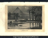 1877 Prints (4) Egypt, The Earth and its Peoples