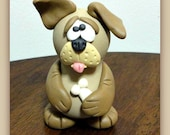 """TUTORIAL....E-Pattern ..PDF fILE ...Hand Painted Polymer Clay Sculpted Gourd Doll...""""Marvin"""""""