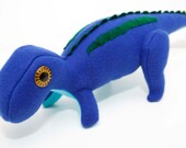 Baby Maiasaura Dinosaur Plush in Blue